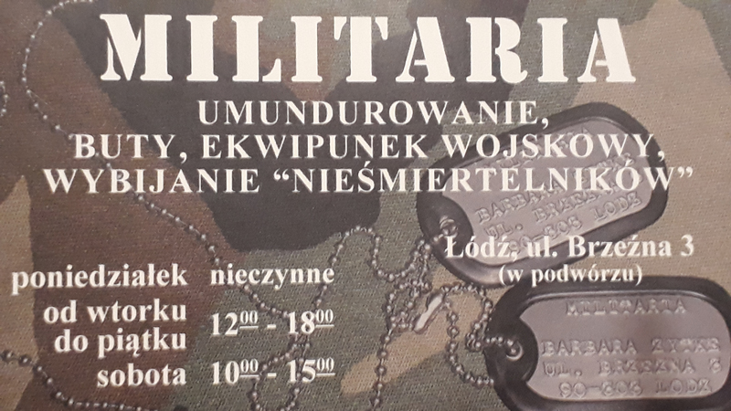 Militaria Łódź